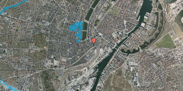 Oversvømmelsesrisiko fra vandløb på Istedgade 12, 1. , 1650 København V