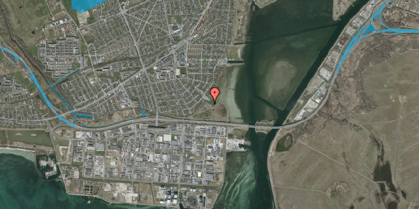 Oversvømmelsesrisiko fra vandløb på Hvidovre Strandvej 99B, 2650 Hvidovre