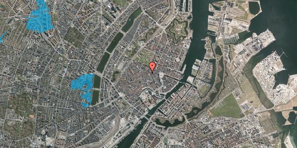 Oversvømmelsesrisiko fra vandløb på Sværtegade 2, 1118 København K