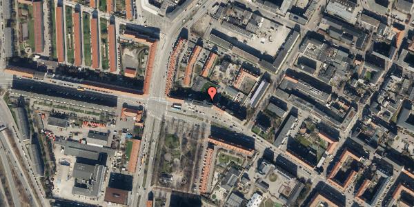 Oversvømmelsesrisiko fra vandløb på Frederikssundsvej 84A, 1. th, 2400 København NV