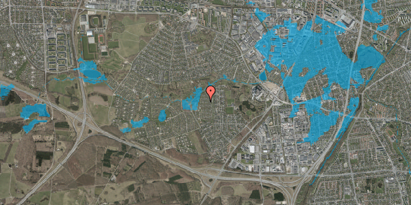Oversvømmelsesrisiko fra vandløb på Vængedalen 619, 2600 Glostrup