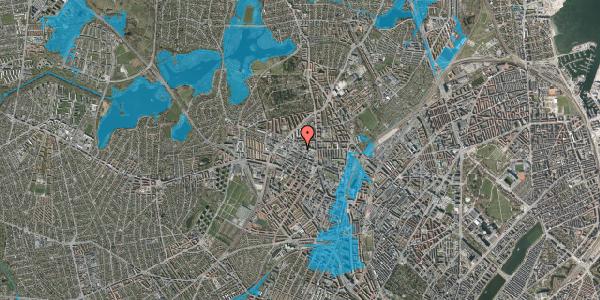 Oversvømmelsesrisiko fra vandløb på Bispevej 12, st. , 2400 København NV