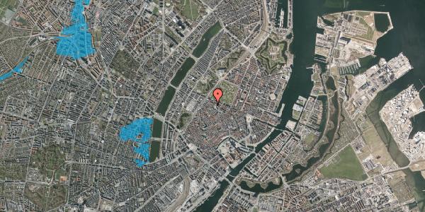 Oversvømmelsesrisiko fra vandløb på Hauser Plads 30A, 1. , 1127 København K