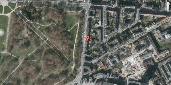 Oversvømmelsesrisiko fra vandløb på Pile Alle 33, 3. mf, 2000 Frederiksberg