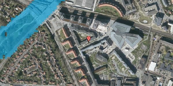 Oversvømmelsesrisiko fra vandløb på Preben Kaas' Vænge 6, st. tv, 2000 Frederiksberg