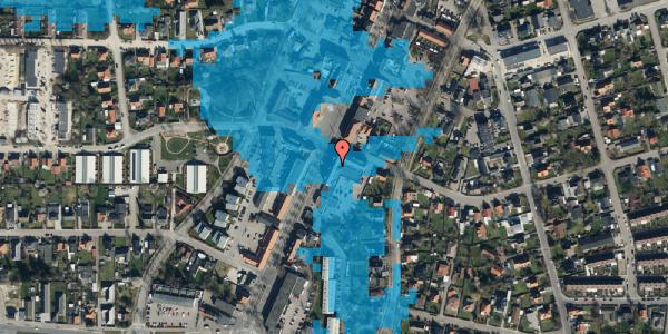 Oversvømmelsesrisiko fra vandløb på Taastrup Hovedgade 111A, 2. 4, 2630 Taastrup