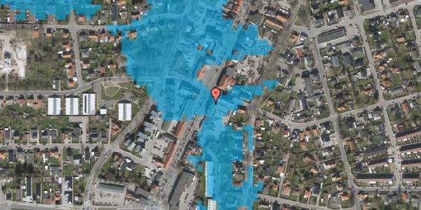Oversvømmelsesrisiko fra vandløb på Taastrup Hovedgade 111A, 3. 4, 2630 Taastrup