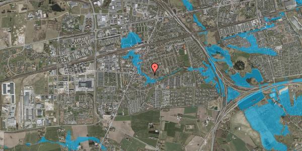 Oversvømmelsesrisiko fra vandløb på Valbyvej 47B, st. 28, 2630 Taastrup
