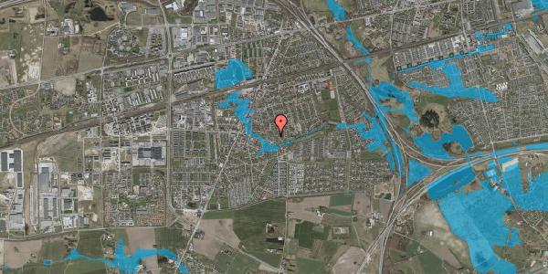 Oversvømmelsesrisiko fra vandløb på Valbyvej 47C, st. 38, 2630 Taastrup