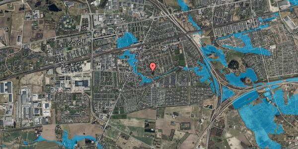 Oversvømmelsesrisiko fra vandløb på Valbyvej 47C, st. 39, 2630 Taastrup