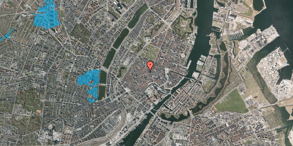 Oversvømmelsesrisiko fra vandløb på Løvstræde 3B, 1152 København K