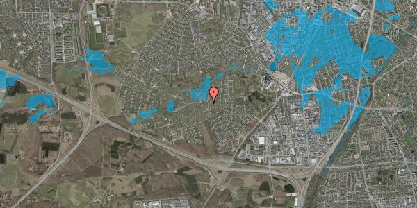 Oversvømmelsesrisiko fra vandløb på Vængedalen 114, 2600 Glostrup