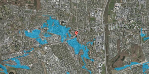 Oversvømmelsesrisiko fra vandløb på Banegårdspladsen 9, 2600 Glostrup