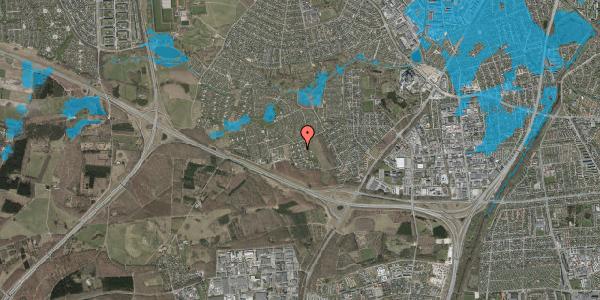 Oversvømmelsesrisiko fra vandløb på Kamillevænget 18, 2600 Glostrup