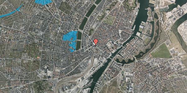 Oversvømmelsesrisiko fra vandløb på Vesterbrogade 1C, 3. tv, 1620 København V