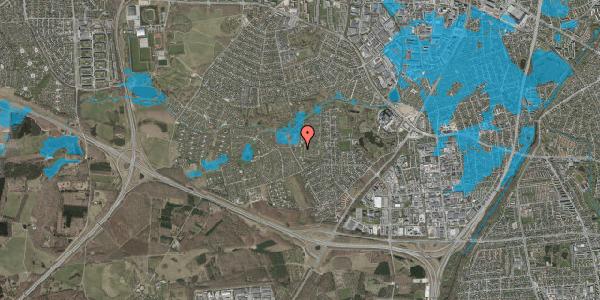 Oversvømmelsesrisiko fra vandløb på Vængedalen 113, 2600 Glostrup