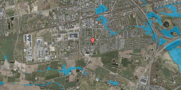Oversvømmelsesrisiko fra vandløb på Sankt Ibs Alle 120, 2630 Taastrup