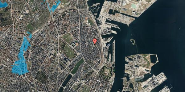 Oversvømmelsesrisiko fra vandløb på Rosenvængets Hovedvej 35, 1. , 2100 København Ø
