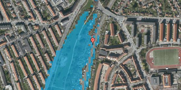 Oversvømmelsesrisiko fra vandløb på Hf. Grænsen 19, 2000 Frederiksberg
