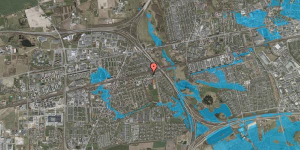 Oversvømmelsesrisiko fra vandløb på Parkvej 135A, 2630 Taastrup