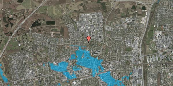 Oversvømmelsesrisiko fra vandløb på Haveforeningen Hersted 33, 2600 Glostrup