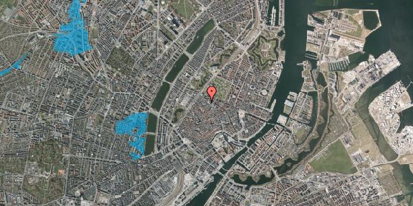 Oversvømmelsesrisiko fra vandløb på Hauser Plads 5, 1127 København K