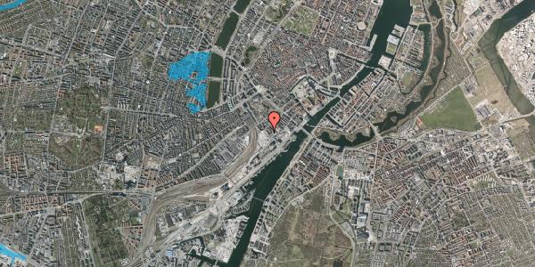 Oversvømmelsesrisiko fra vandløb på Bernstorffsgade 23A, 4. tv, 1577 København V