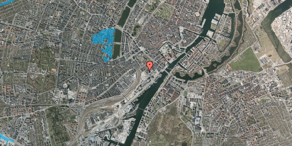 Oversvømmelsesrisiko fra vandløb på Bernstorffsgade 23A, 3. th, 1577 København V