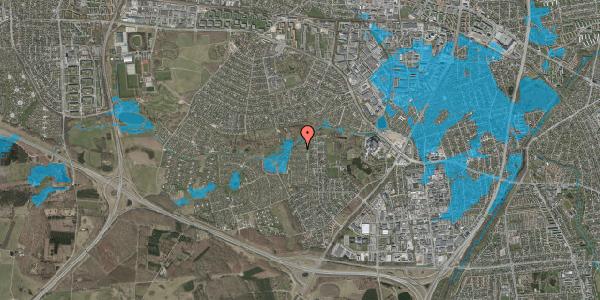Oversvømmelsesrisiko fra vandløb på Vængedalen 816, 2600 Glostrup