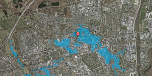 Oversvømmelsesrisiko fra vandløb på Stadionvej 88, 2600 Glostrup