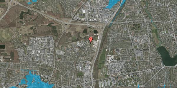 Oversvømmelsesrisiko fra vandløb på Stisager 14, . 14, 2600 Glostrup