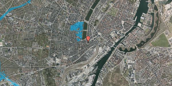 Oversvømmelsesrisiko fra vandløb på Vesterbrogade 33, 3. , 1620 København V