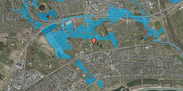 Oversvømmelsesrisiko fra vandløb på Idræts Alle 22, 2625 Vallensbæk