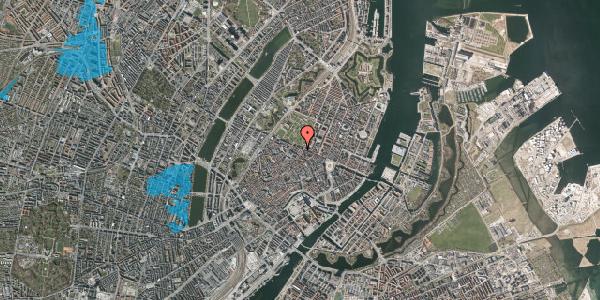 Oversvømmelsesrisiko fra vandløb på Sjæleboderne 4, 3. tv, 1122 København K