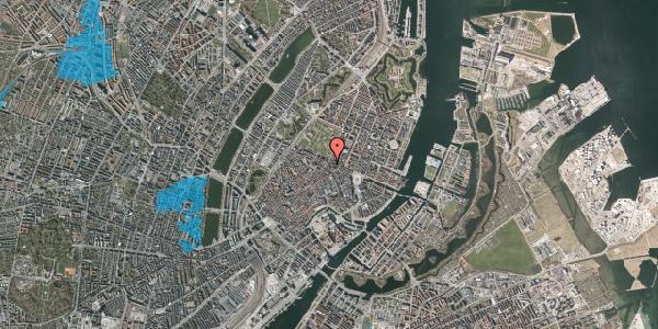 Oversvømmelsesrisiko fra vandløb på Christian IX's Gade 7, 1. th, 1111 København K