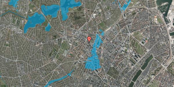 Oversvømmelsesrisiko fra vandløb på Brofogedvej 8, 2. , 2400 København NV