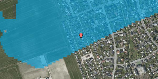 Oversvømmelsesrisiko fra vandløb på Hf. Dahlia 69, 2650 Hvidovre