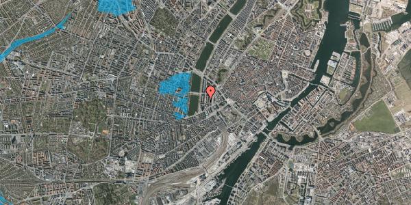 Oversvømmelsesrisiko fra vandløb på Nyropsgade 45, 1. , 1602 København V