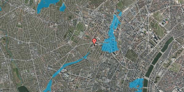 Oversvømmelsesrisiko fra vandløb på Jordbærvej 81, 2400 København NV