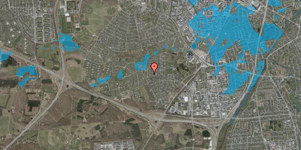 Oversvømmelsesrisiko fra vandløb på Vængedalen 222, 2600 Glostrup