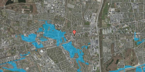Oversvømmelsesrisiko fra vandløb på Glostrup Shoppingcenter 47, st. , 2600 Glostrup