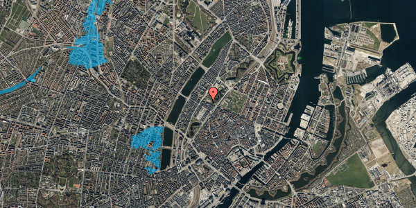 Oversvømmelsesrisiko fra vandløb på Gothersgade 139, 5. 2, 1123 København K