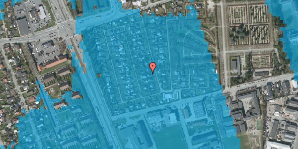 Oversvømmelsesrisiko fra vandløb på Hf. Svarø 73, 2650 Hvidovre