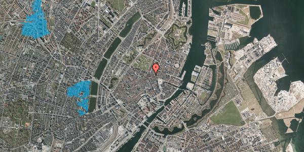 Oversvømmelsesrisiko fra vandløb på Store Regnegade 28, 1110 København K