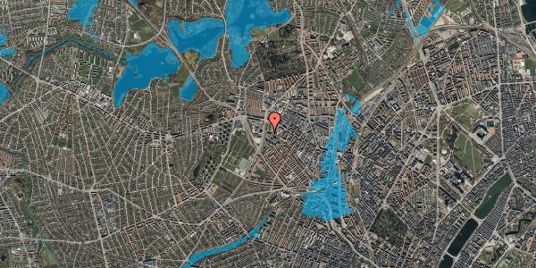 Oversvømmelsesrisiko fra vandløb på Gråspurvevej 3, 1. 2, 2400 København NV