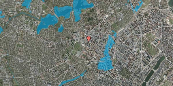 Oversvømmelsesrisiko fra vandløb på Gråspurvevej 3, 3. 4, 2400 København NV