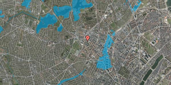 Oversvømmelsesrisiko fra vandløb på Gråspurvevej 5, 1. 2, 2400 København NV