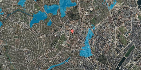 Oversvømmelsesrisiko fra vandløb på Gråspurvevej 5, 4. 1, 2400 København NV