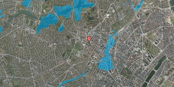 Oversvømmelsesrisiko fra vandløb på Gråspurvevej 13, st. , 2400 København NV