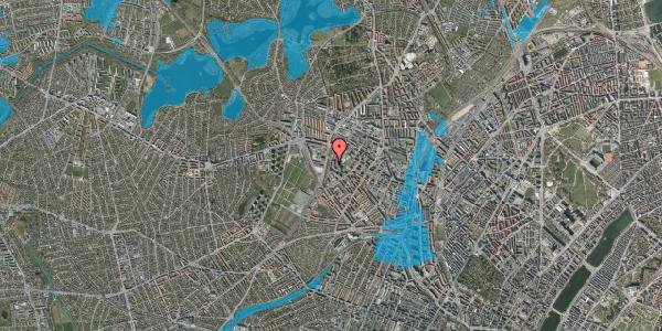 Oversvømmelsesrisiko fra vandløb på Gråspurvevej 15, 1. 1, 2400 København NV